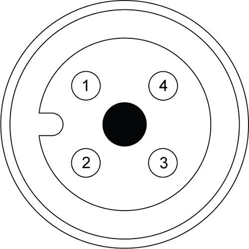 mc41pw03mxx 1  2 u0026quot  4 position receptacle  male  external