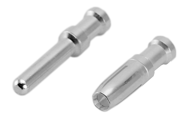 VN0203600031C Single turned crimp contact. Socket, 2mm first-to ...
