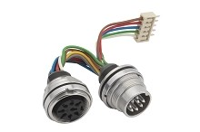CA091560001 AISG RET Cable Assembly, Receptacle with wires, potted, male/female