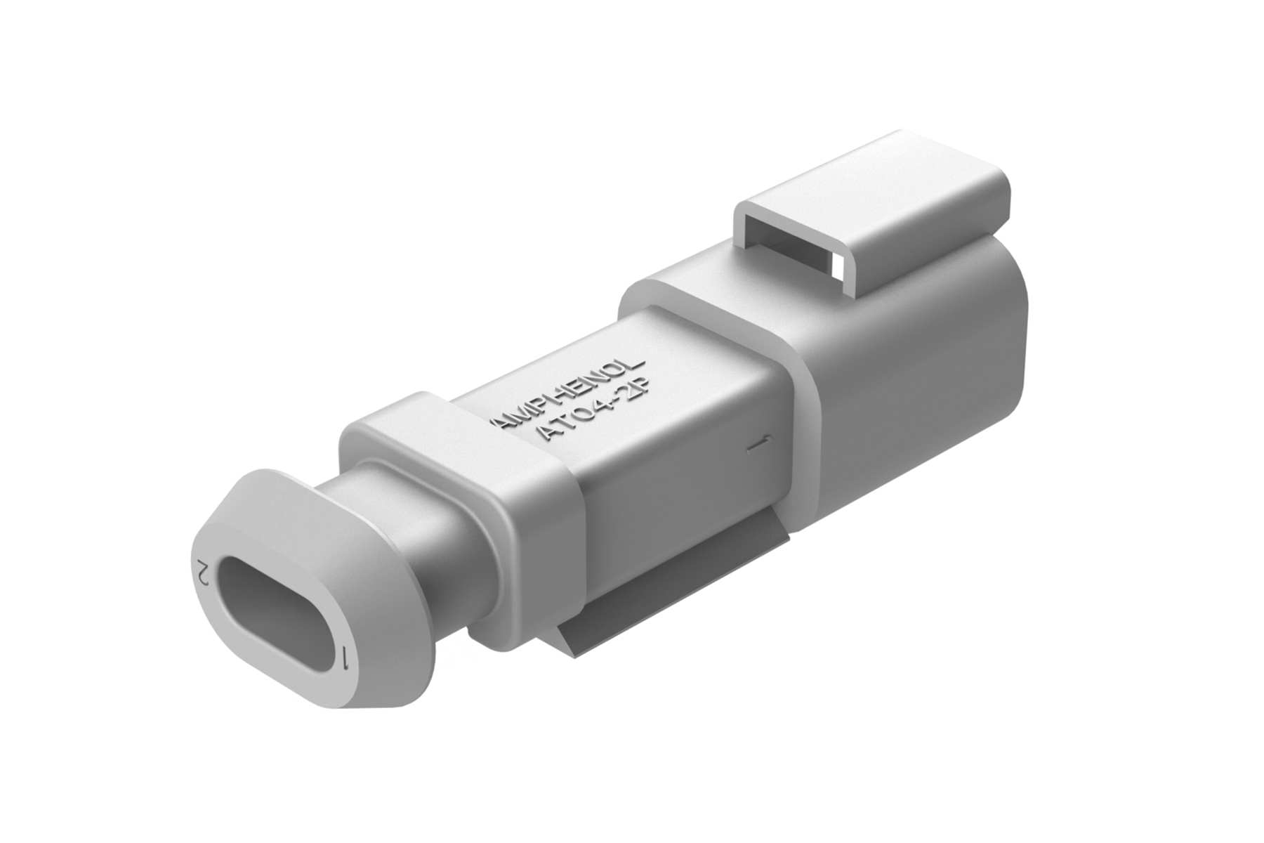 At04 2p Sb01 2 Way Receptacle Male Connector With Shrink
