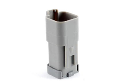 AT04-6P-MM01 6-Way Receptacle, Male Connector with Reduced