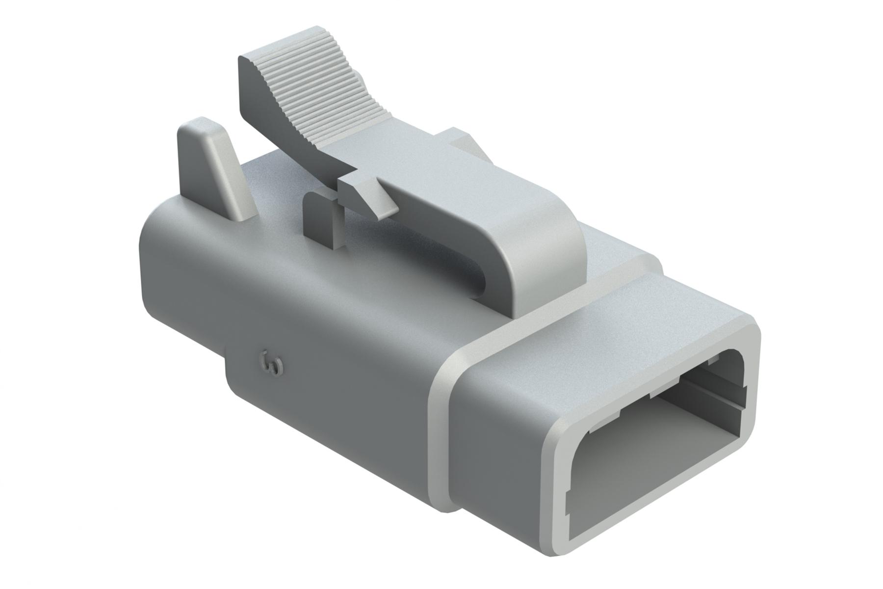 ATM06-3S   3-Way Plug, Female   ATM Series™ Heavy Duty Connector