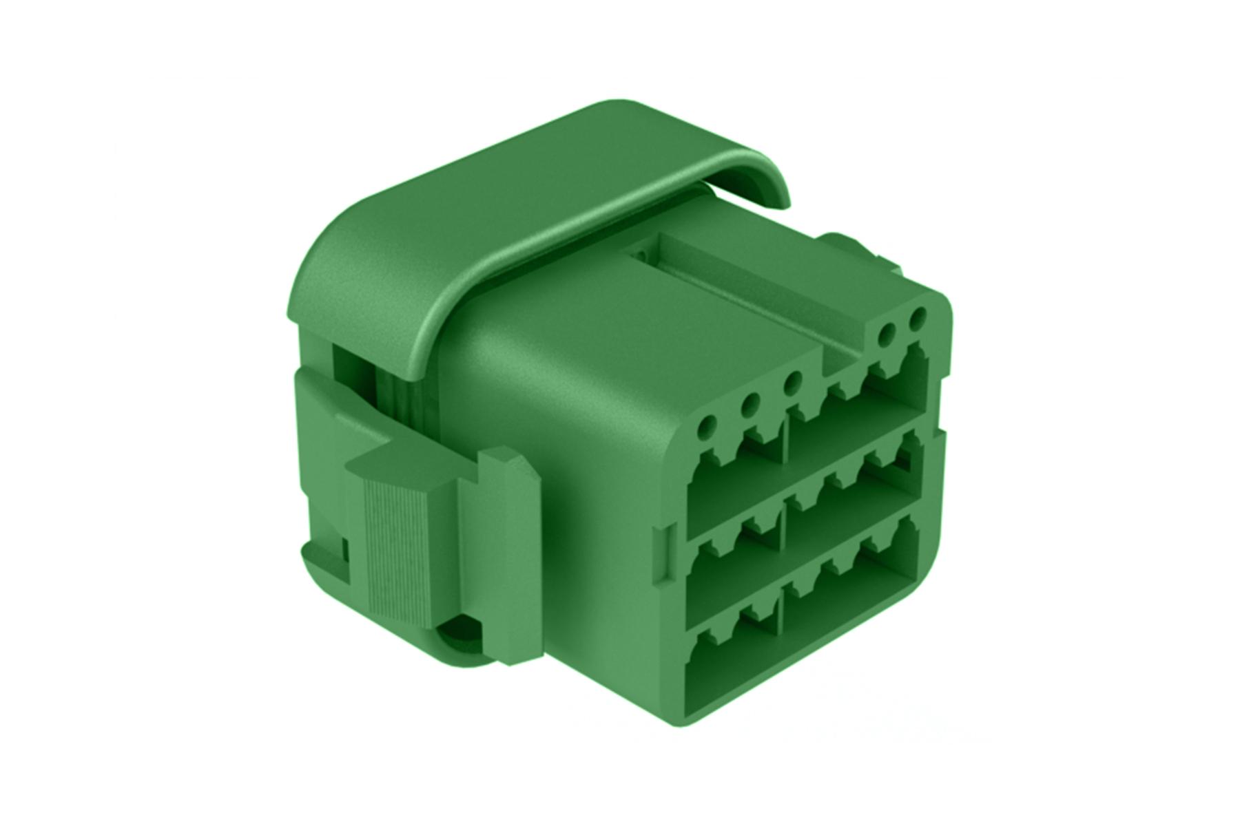 ATV06-18SC 18 position plug, Size 16 contact, key C, standard seal