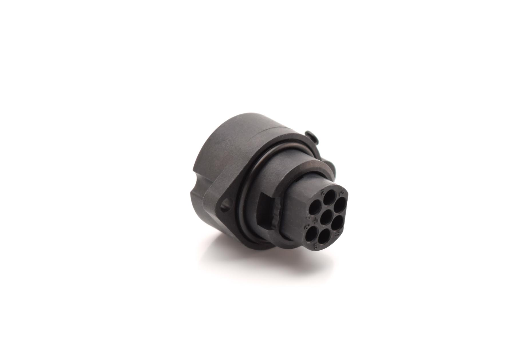 12 Contacts Circular Connector Contacts Not Supplied Crimp Pin CN0966 Series CN0966A22A12P6-040 CN0966A22A12P6-040 Straight Plug