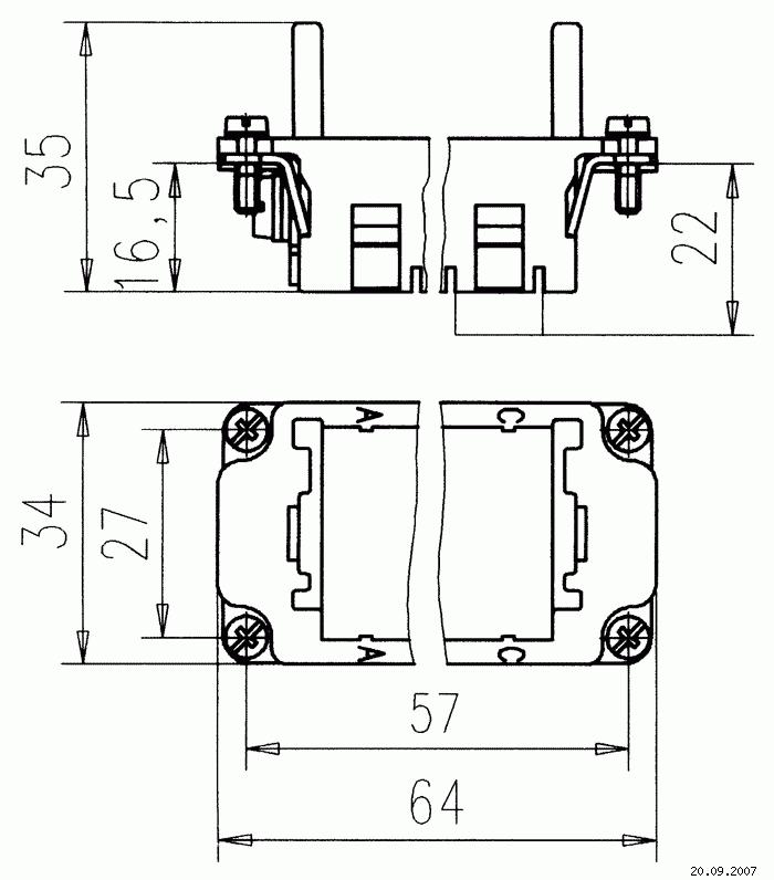 s10 frame diagram c146 s10 001 g8 frame for 3 modules  1 x pe   size e10  c146 s10 001 g8 frame for 3 modules  1