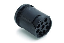 AHD14-9-1939P 9-Position Receptacle, Male, In Line, Threaded Rear, J1939. Compatible to part # HD14-9-1939P