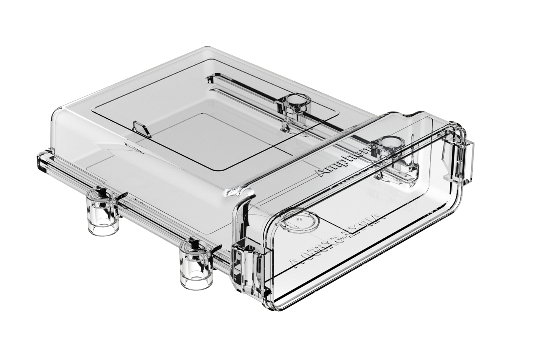 AIPXE-5X650A-E017  Clear AIPX  LARGE  Enclosure with Vent Hole