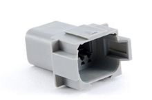 AT04-08PA-RD01 8-Way Receptacle, Male, Reduced Diameter Seal (E-Seal). Compatible to part # DT04-08PA-C015