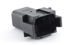 AT04-08PB-RD01 8-Way Receptacle, Male, B Position Key, Reduced Diameter Seal (E-Seal). Compatible to part # DT04-08PB-C015