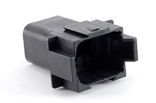 AT04-08PB 8-Way Receptacle, Male, B Position Key. Compatible to part # DT04-08PB