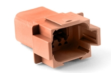 AT04-08PD 8-Way Receptacle, Male. Compatible to part # D Position Key. Compatible to part # DT04-08PD