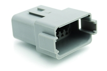 AT04-12PA-NES 12-Way Receptacle, Male, A Position Key, Non-Extended Shroud