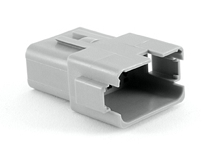 AT04-12PA 12-Way Receptacle, Male, A Position Key, Extended Shroud. Compatible to parts # DT04-12PA, DT04-12PA-B016