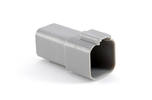 AT04-6P-RD01 6-Way Receptacle, Male, Reduced Diameter Seal (E-Seal). Compatible to part # DT04-6P-C015