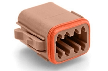 AT06-08SD 8-Way Plug, Female. Compatible to part # D Position Key. Compatible to part # DT06-08SD