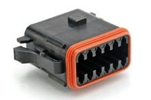 AT06-12SB 12-Way Plug, Female, B Position Key. Compatible to part # DT06-12SB