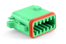 AT06-12SC 12-Way Plug, Female, C Position Key. Compatible to part # DT06-12SC