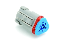 AT06-3S-RJ120, 3-Way Plug, Female, 120 OHM Terminating Resistor (J1939). Compatible to part # DT06-3S-P006