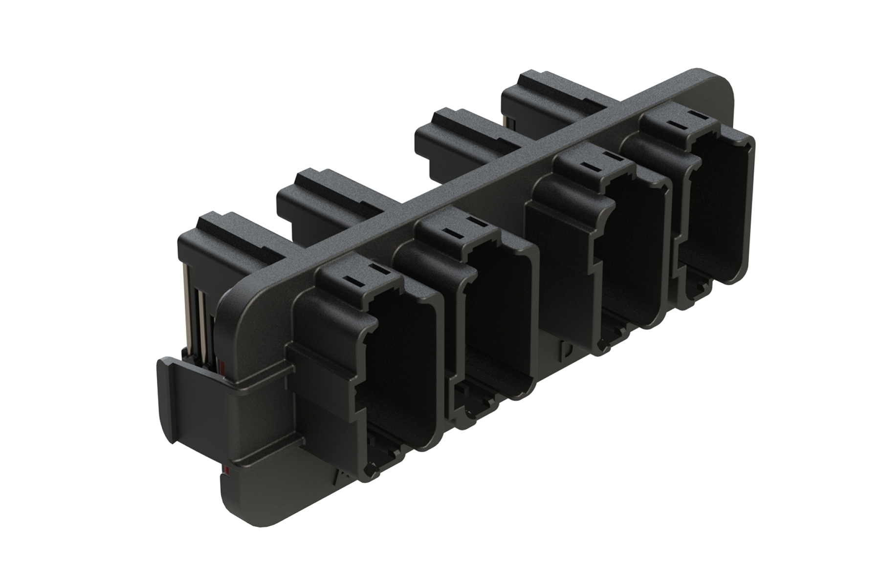 AT13-24PAB-BM03  AIPX AT Header Thermoplastic 2X12 SIZE 16 AB Key, Tin Plating, Black. Comparable to PN# DT13-24PAB-R015