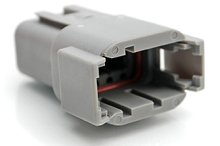 ATM04-08PA 8-Way Receptacle, Male, A Position Key