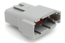 ATM04-12PA 12-Way Receptacle, Male, A Position