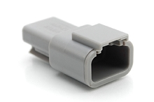 ATM04-3P 3-Way Receptacle, Male
