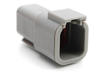 ATM04-6P 6-Way Receptacle, Male