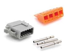 ATM06-12SA-KT01 12-Way Socket Plug, Wedge and Contacts Kit