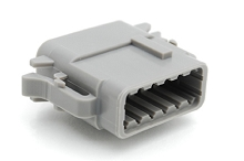 ATM06-12SA 12-Way Plug, Female, A Position Key.  Comparable to PN #DTM06-12SA