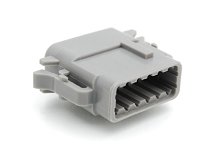 ATM06-12SB 12-Way Plug, Female, B Position Key.  Comparable to PN #DTM06-12SB