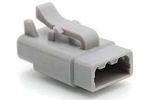ATM06-3S 3-Way Plug, Female.  Comparable to PN #DTM06-3S
