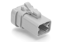 ATP06-4S-EC01 4-Way Plug Female with End Cap. Compatible to part # DTP06-4S-E003