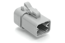 ATP06-4S-RD01 4-Way Plug, Female with Reduced Diameter Seal. Compatible to part # DTP06-4S-C015