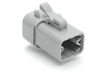 ATP06-4S 4-Way Plug, Female. Compatible to part # DTP06-4S