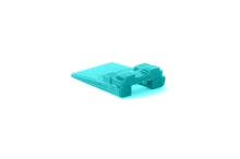 AW2P  2-Way Wedgelock Receptacle. Comparable to parts #W2P, 934471003