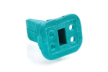 AW4S  4-Way Plug Wedgelock. Comparable to parts #W4S, W4S-P012, 934483003