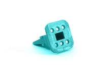 AW6S  6-Way Plug Wedgelock. Comparable to parts #W6S, W6S2-P012, 934484003