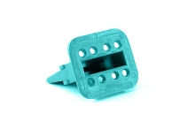 AW8S  8-Way Wedgelock Plug. Comparable to parts #W8S, W8S-P012, 934485003