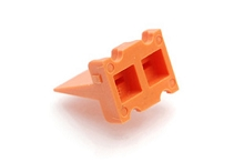 AWP-4P 4-Way Wedgelock Receptacle, Compatible to part # WP-4P