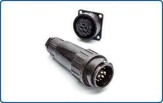 la serie RM Socket 14 a Ecomate Crimp 10 x conector circular contacto Estampados