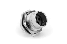 RT07142PNH Jam Nut Receptacle, Male, with O-ring Seal,4 Contacts, Sizes 2.5mm & 16, 23A & 13A/350V, Shell Size 14