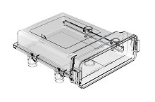 AIPXE-5X650B-E017 Clear  AIPX  LARGE  Enclosure with/out Vent Hole