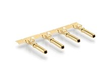 AT62-14-0144 - Stamped & Formed Gold-Plated Female Contact, Size16. Comparable to PN# 1062-14-0144