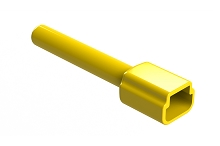 ATM3P-BT-YW  Boot for 3 Position Receptacles, Yellow