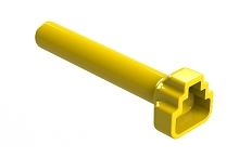 ATM3S-BT-YW  Boot for 3 Position Plugs, Yellow