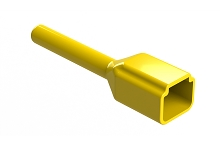 ATP2P-BT-YW  Boot for 2 Position Receptacles, Yellow