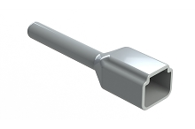 ATP2P-BT  Boot for 2 Position Receptacles, Grey.   Comparable to Part #DTP2P-BT