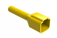 ATP4P-BT-YW  Boot for 4 Position Receptacles, Yellow