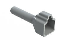 ATP4S-BT  Boot for 4 Position Plugs, Grey.   Comparable to Part #DTP4S-BT