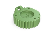 AHDC-16-9-OBDGN HD Series 9 Pin Receptacle Cap  OBD   GREEN